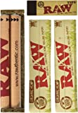 Raw King Size Organic Deal - King Size Slim Organic Rolling Papers, 110mm Rolling Machine and Wide Filter Tips INCLUDES…