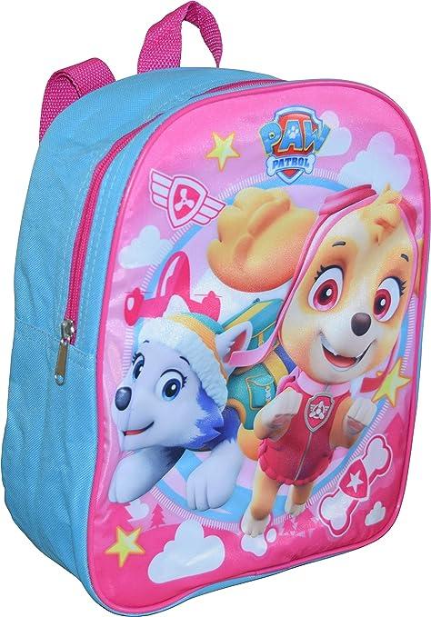 Amazon.com: Nickelodeon Paw Patrol Mochila para niña de 12.0 ...