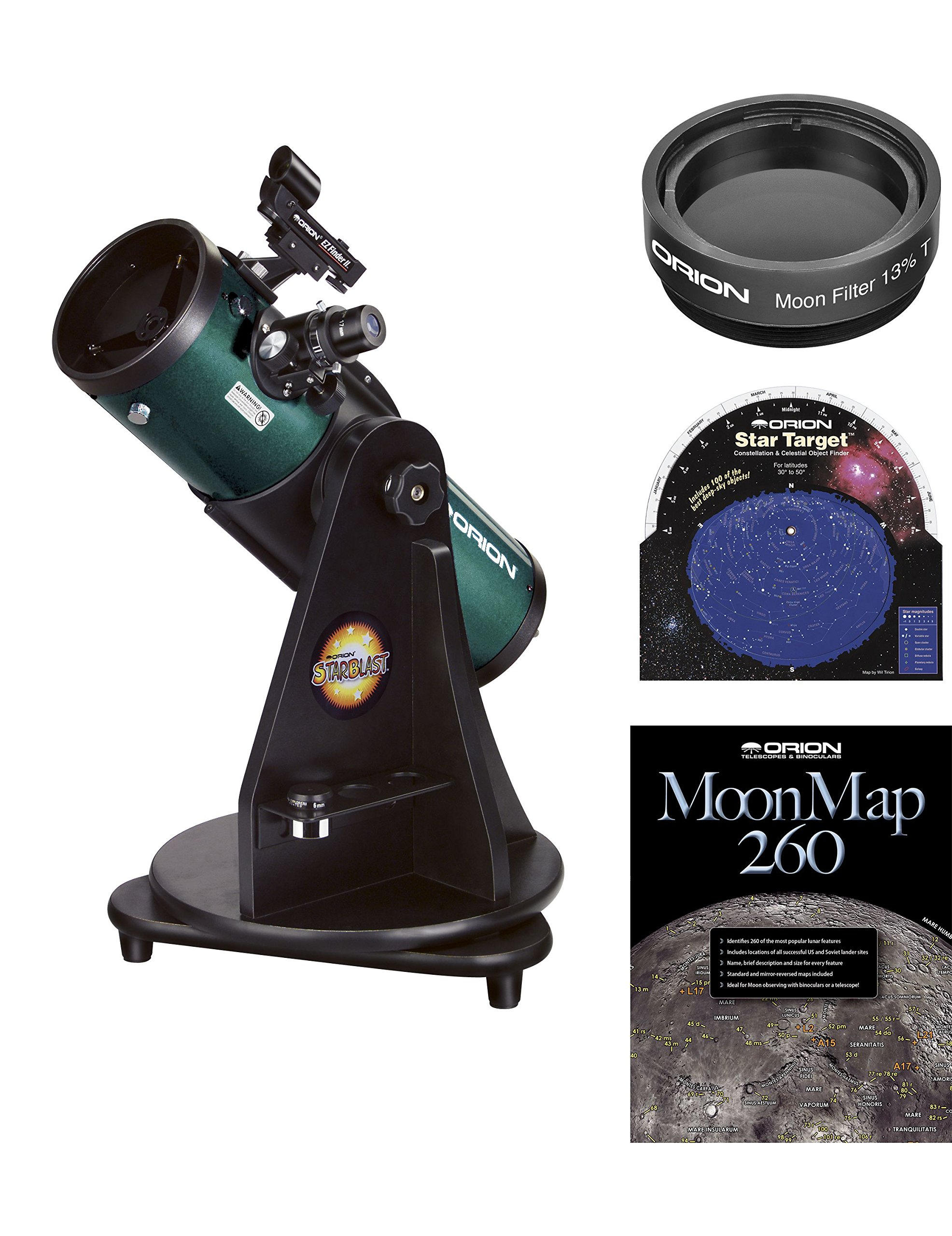Orion StarBlast 4.5 Astro Reflector Telescope Kit by Orion (Image #1)