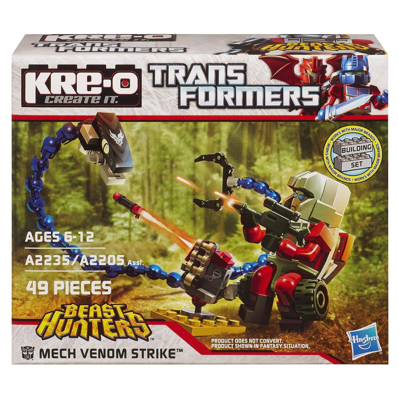 Kre O Transformers Beast Hunters Mech Venom Strike Set A2235