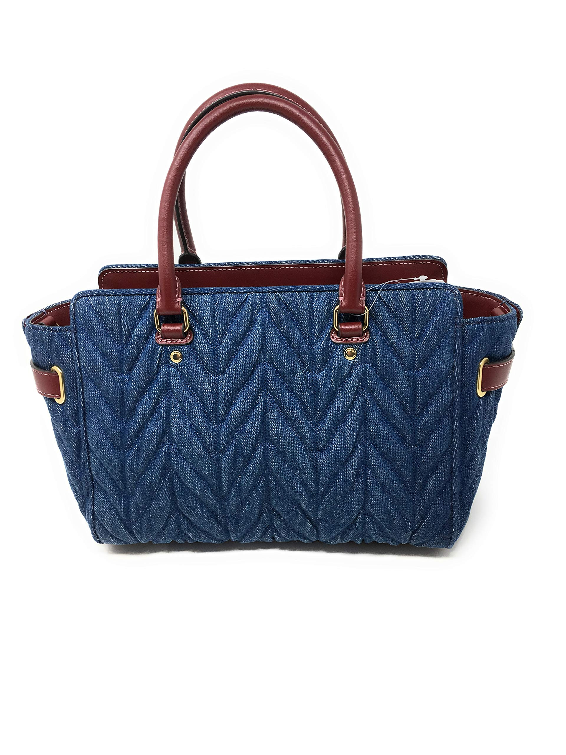 COACH F39905 BLAKE CARRYALL 25 WITH QUILTING DENIM by Coach (Image #3)