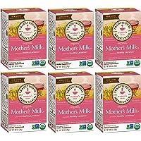 6-cajas Traditional Medicinals Organic Mother's Milk Tea Té Leche de Madre Materna Lactancia Lactation, 96 sobres total, 16 sobres por caja
