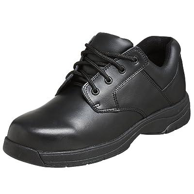 Rocky Duty Men's Slip Stop Dress Oxford, Black, 8 W   Boots