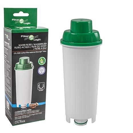 FilterLogic CFL-950B - Filtro de agua para cafetera automática de DeLonghi reemplaza el cartucho