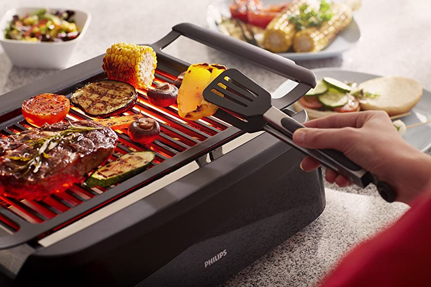 Smoke-less Indoor Barbecue Grill
