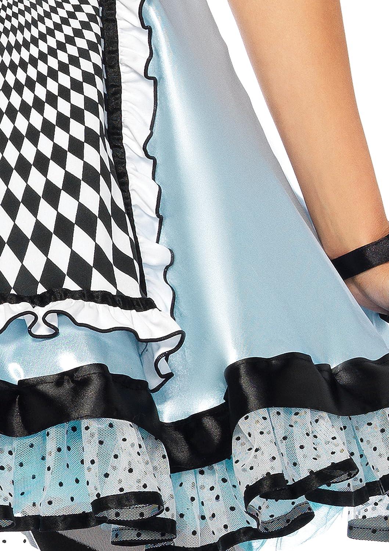 bluee Black Small Disney Leg Avenue Women's Hypnotic Miss Alice Alice Alice Costume 9a211b