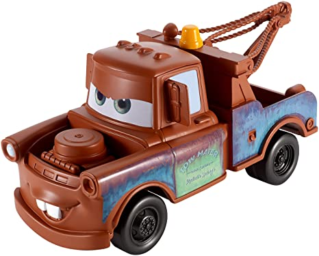 amazon com mattel cars 3 mater vehicle 8 5 toys games
