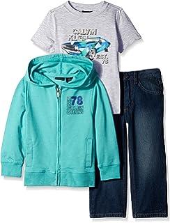 Amazon.com: OFFCORSS Baby Boys Outfits Set T-Shirt Shorts Conjuntos ...