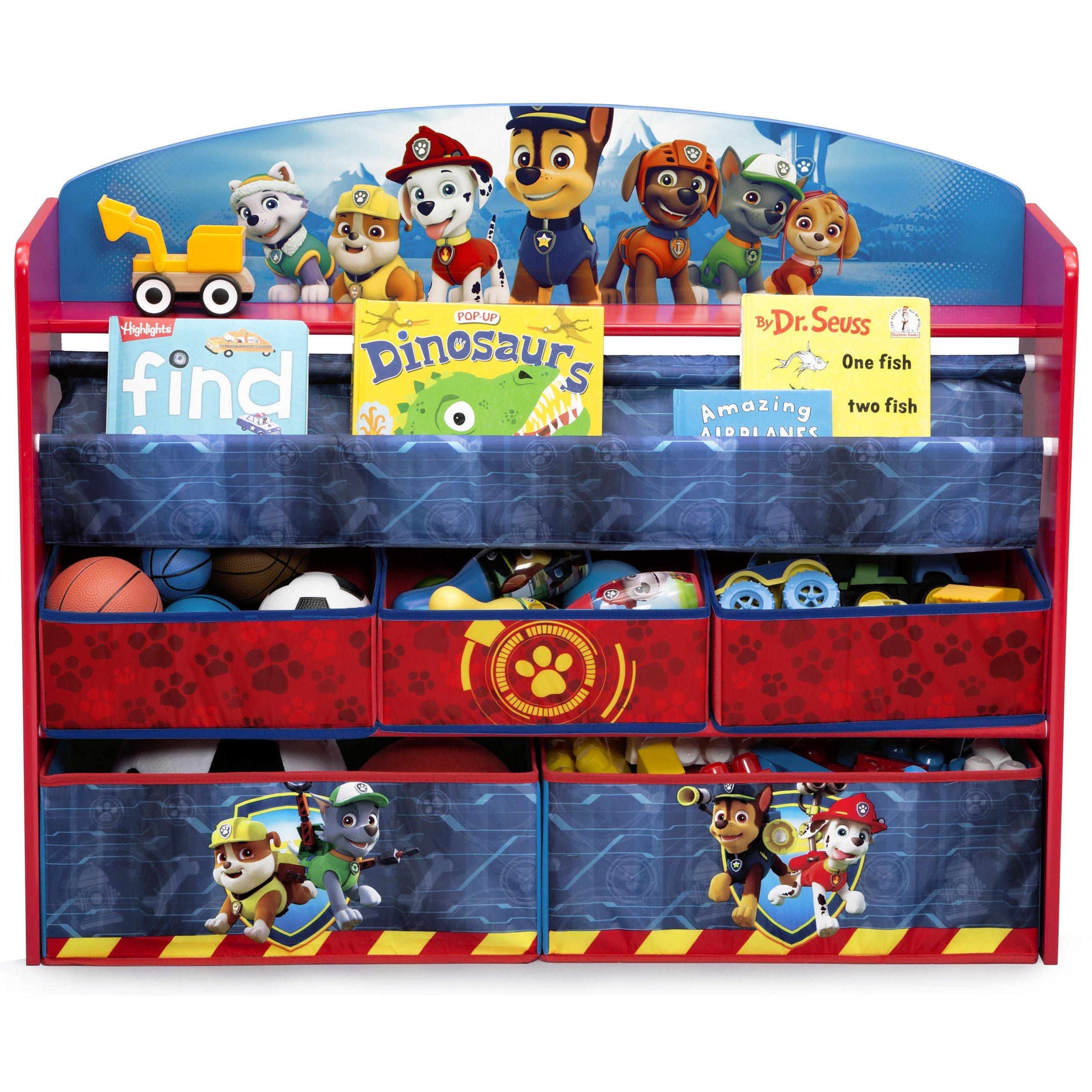 Delta Children Deluxe Book and Toy Organizer, Nick Jr. PAW Patrol by Delta Children (Image #5)