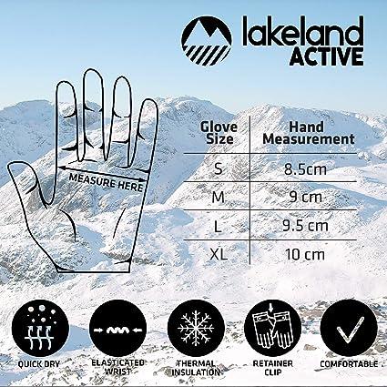 Damen Lakeland Active Kendal Microfleece Handschuh
