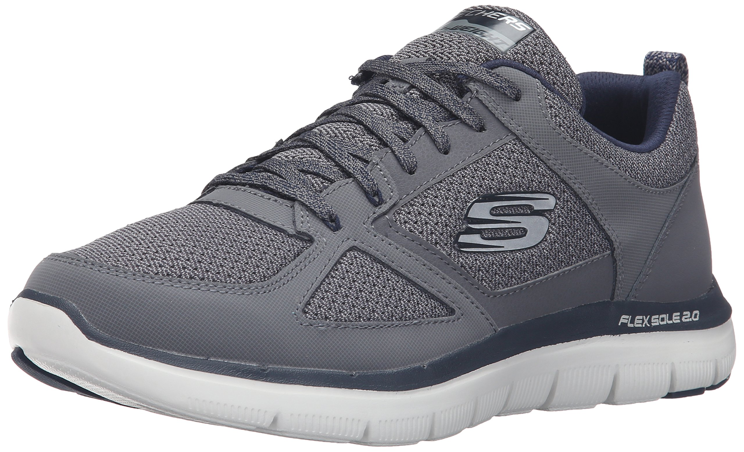bc039e67eb Galleon - Skechers Sport Men s Flex Advantage 2.0 Oxford Sneaker ...