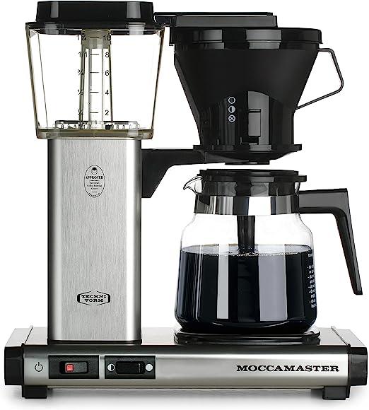 Amazon.com: Moccamaster KB 741 Cafetera para 10 tazas con ...