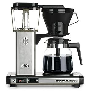 Technivorm Moccamaster 59691 KB Coffee Brewer, 40 oz, Brushed silver