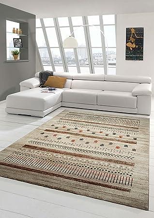 Designer Teppich Moderner Teppich Wohnzimmer Teppich Barock Design In Braun  Beige Taupe Rot Größe 200 X