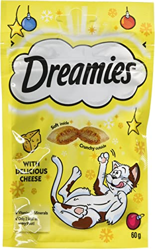 DREAMIES Cheese Cat Treats 60 g Pack of 8