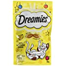 Dreamies Cat Treats with Cheese, 60 g - Pack of 8