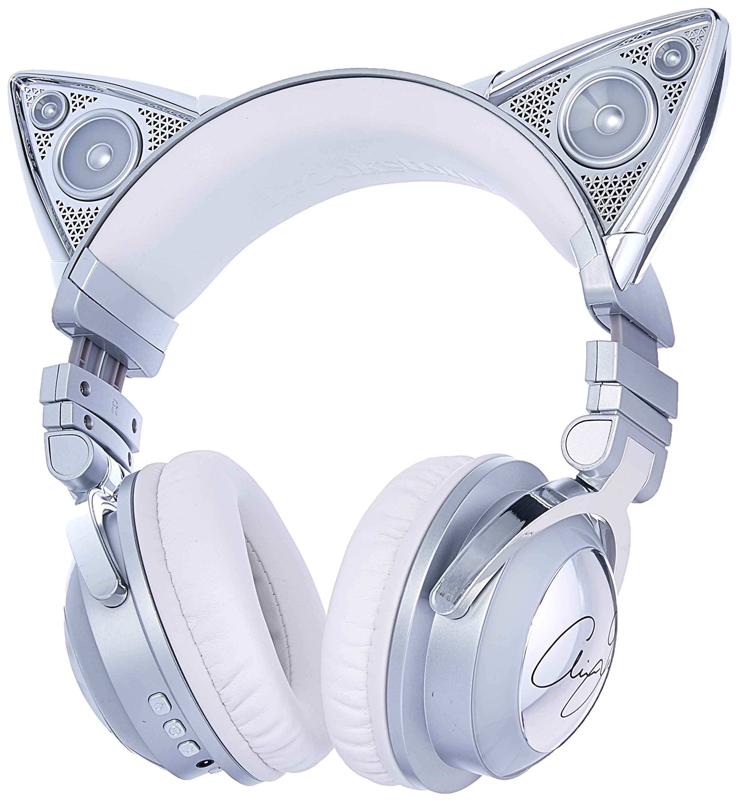 Auriculares Brookstone Limited Edition Ariana Grande Inalambrico Cat Ear con External Speaker Bluetooth Microfono y Colo