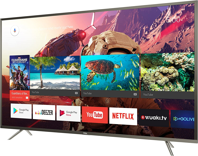 TCL U43P6046 - Televisor Smart TV Led de 43 pulgadas (Ultra HD, Android TV, 3840x2160, 3 x HDMI, 2 x USB): Amazon.es: Electrónica