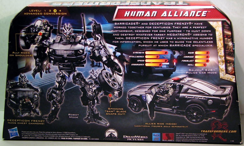 "Transformers Revenge of the Fallen Human Alliance Barricade 7/"" Action Figure"