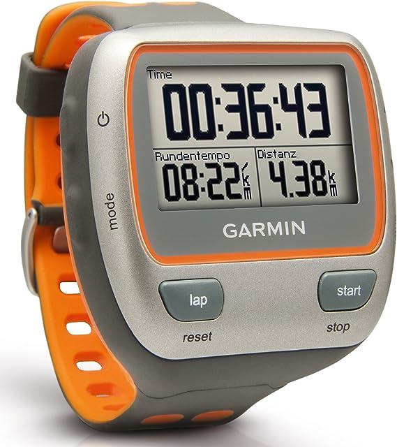 Garmin Forerunner 310XT - Reloj GPS para triatletas con pulsómetro, Gris y Naranja: Amazon.es: Deportes y aire libre