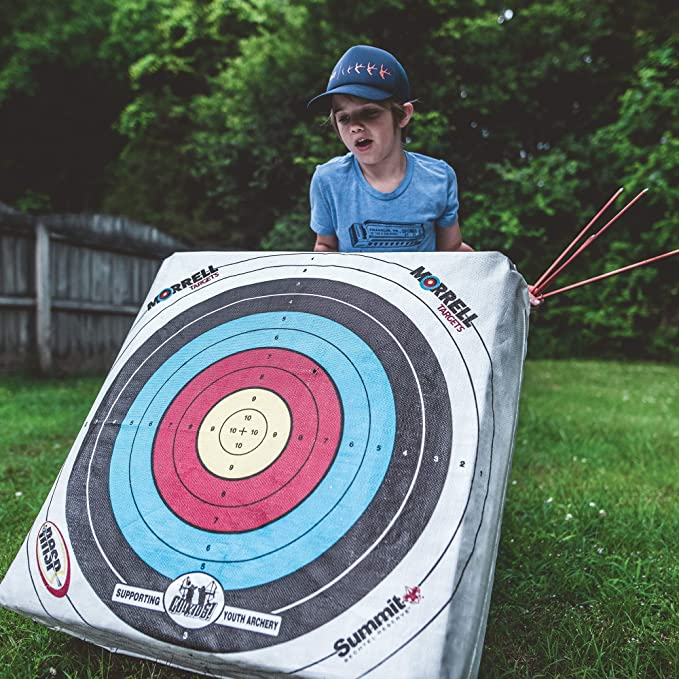 387d99783 Amazon.com : Morrell Youth Field Point Bag Archery Target - has NASP ...