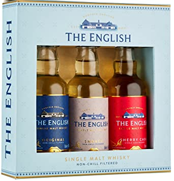 The English Whisky Co. - 3 x 5cl Miniature Gift Pack - Whisky ...