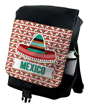 Amazon.com: Mochila mexicana Lunarable, disfraz de gorro ...