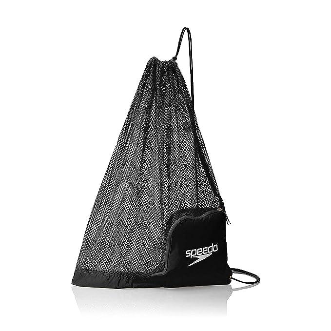 Amazon.com: Speedo mochila para equipamiento, con red que ...