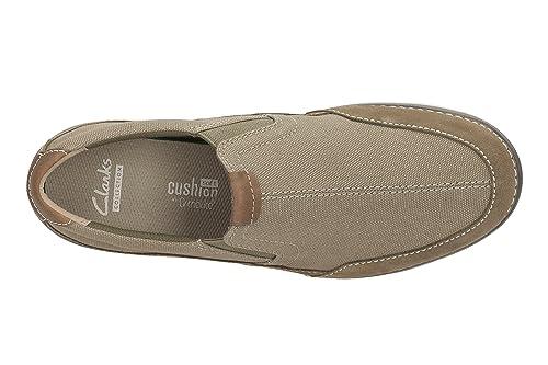 Clarks Homme Décontracté Ripton Chaussures Textiles Libre Taille 41 Standard Olive Passform visite Livraison gratuite profiter Footlocker aA3jzT