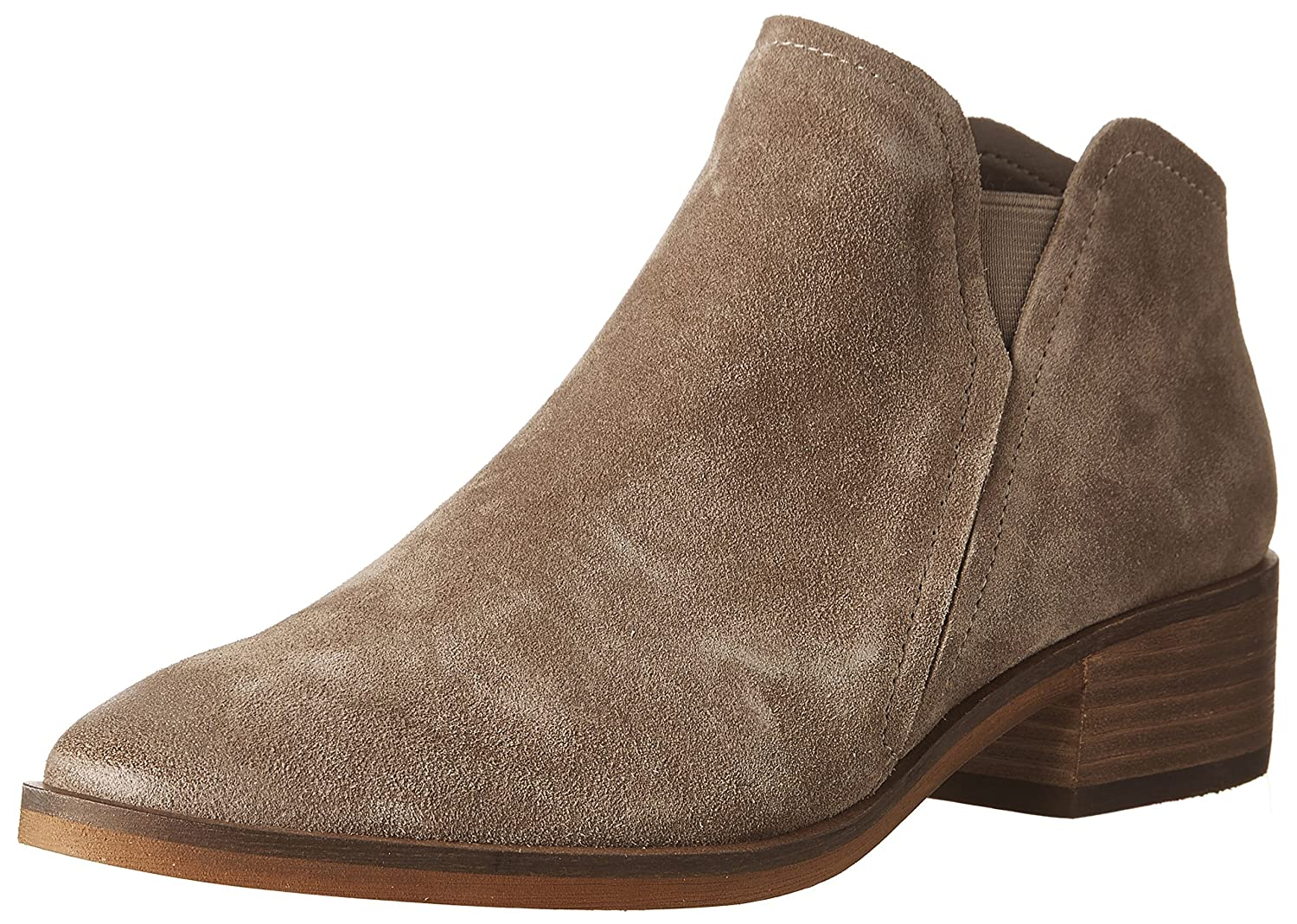 Dolce Vita Women's Tay Ankle Boot B06XK8CZ8X 6.5 B(M) US|Dark Taupe Suede