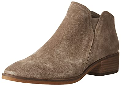41e9cd845e0 Dolce Vita Women's TAY Ankle Boot, Dark Taupe Suede, 6 Medium US