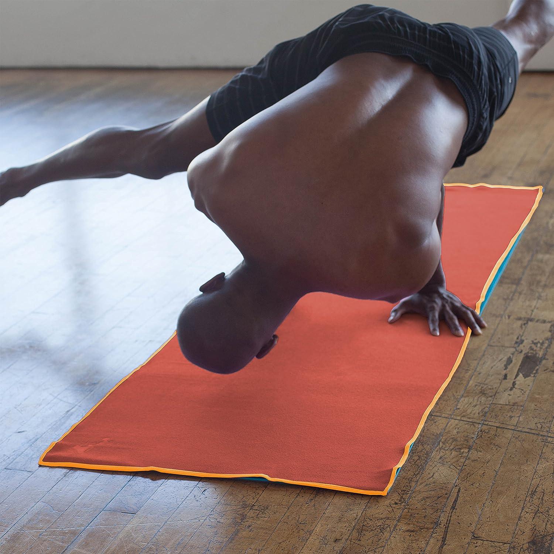 Lightweight Yoga Mat Towels Absorbent YogaRat Yoga Towel 100/% Microfiber -/Multiple Sizes -/Non-Slip Yoga Hand Towel Option Available Thin