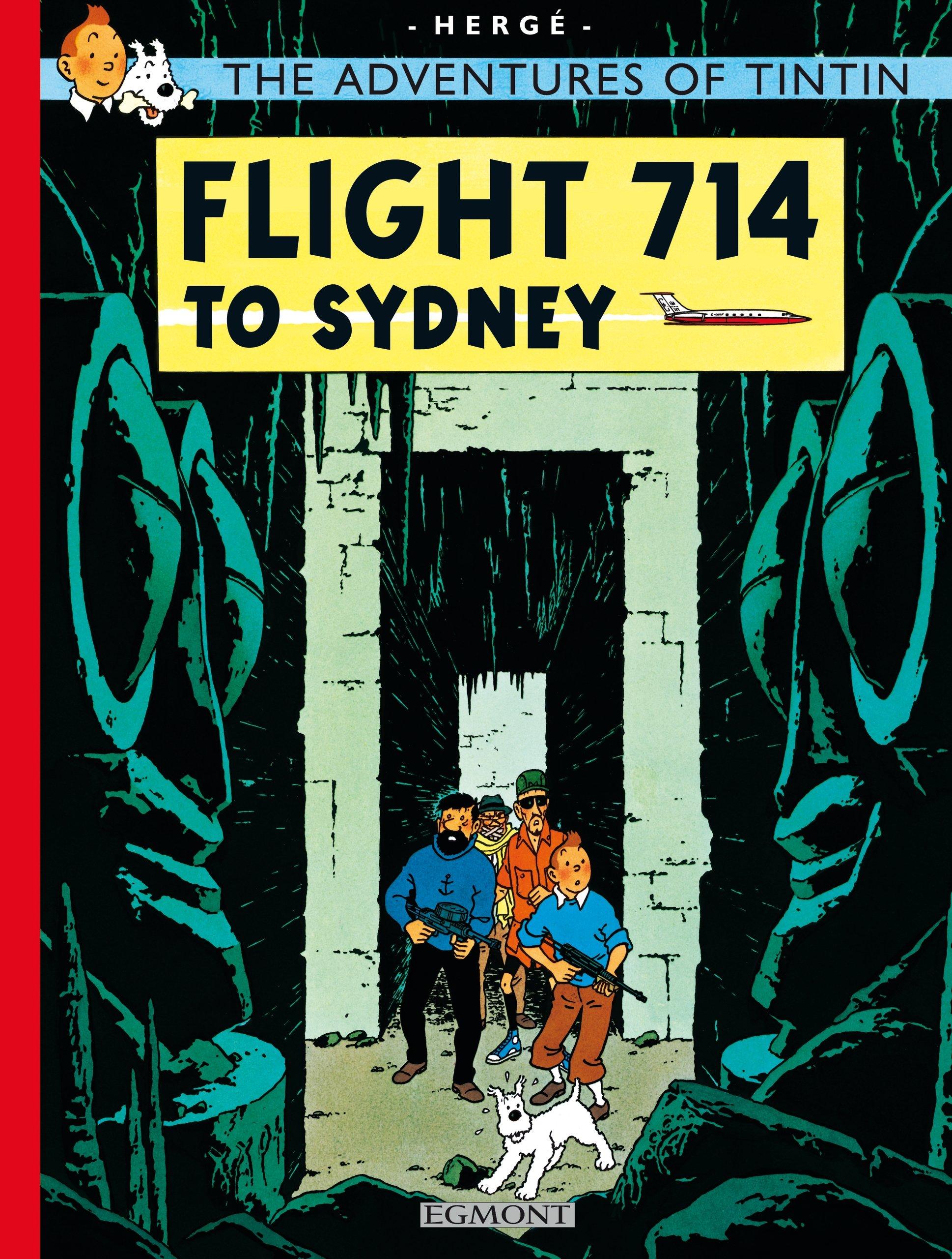 Tintin Flight 714 (The Adventures of Tintin) ebook