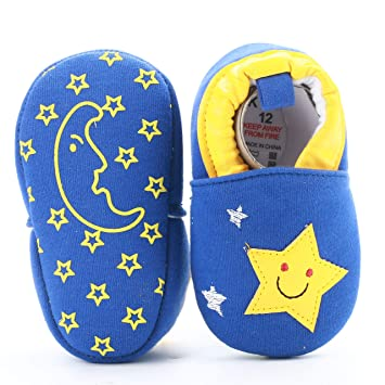 Toddler Boy Girl Pu Leather Prewalker Shoes Soft Sole Polwer Baby Crib Sneakers