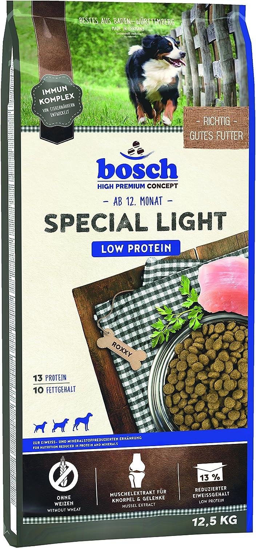 bosch HPC Special Light | Comida seca para perros de todas las razas | Para la nutrición reducido en proteínas y minerales | 12,5 kg