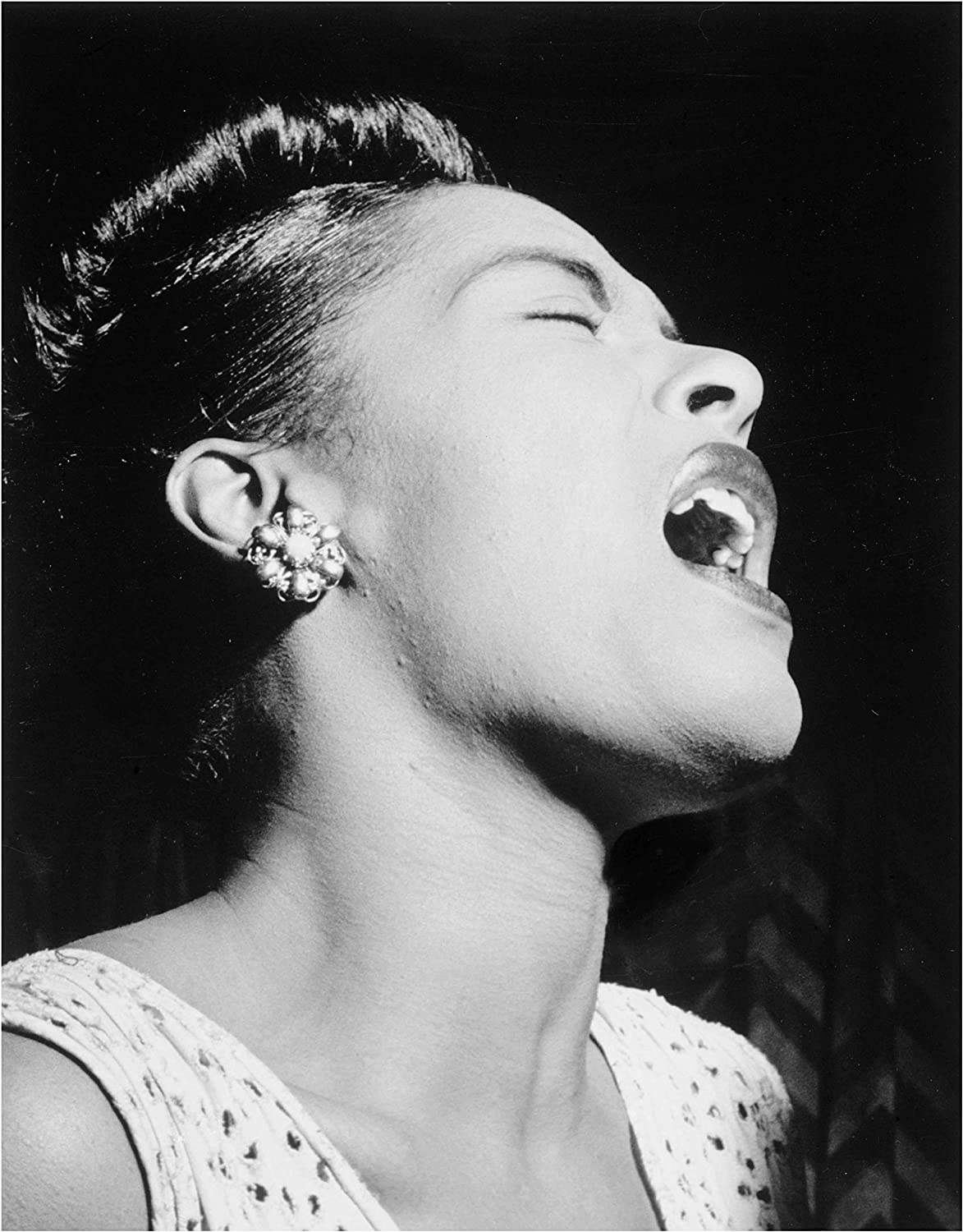 Billie Holiday B//W In Concert Town Hall  18X24 POSTER Free Shipping