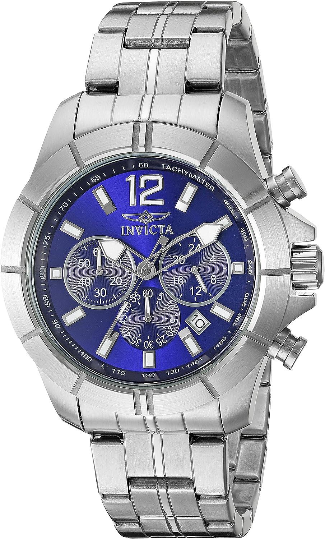 Invicta Men s 21464 Specialty Analog Display Japanese Quartz Silver Watch