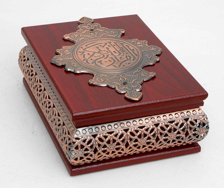 Islamic Muslim wood Quran box / Home decorative # 1679