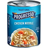 Progresso Soup, Traditional, Chicken Noodle Soup, 19 oz Cans (Pack of 6)