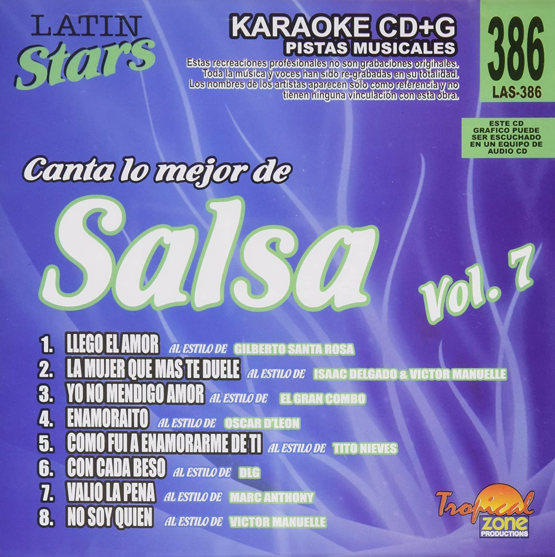 Karaoke Latin Stars Salsa - Karaoke Latin Stars Salsa 7