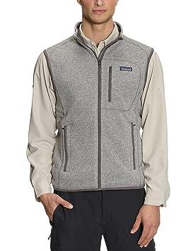 afbc455f3f1 Patagonia M S Better Sweater V Gilet sans manche homme Stonewash Gris M