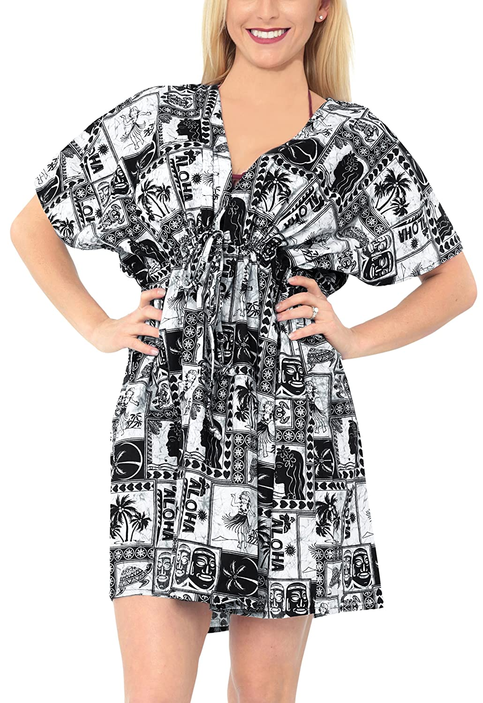247fc696c5b7f Online Cheap wholesale LA LEELA Bikini Swimwear Swimsuit Beach Bathing Suit  Cover ups for Women Summer Dress Tie Dye Cover-Ups Suppliers