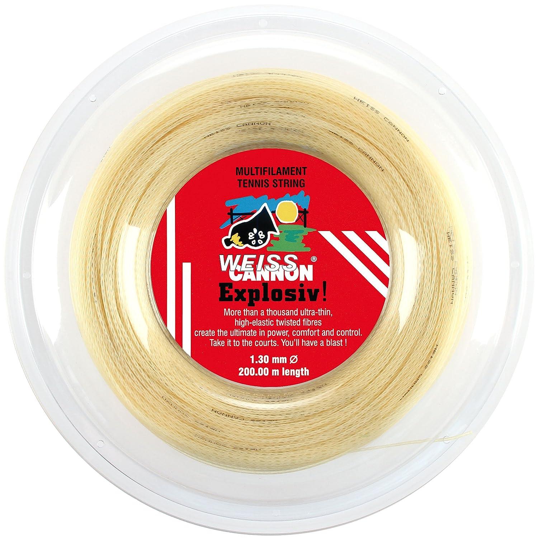 Weiss CANNON 241 Explosiv! Ficelle en polyamide pour raquette de tennis 200 m x 1, 30 mm