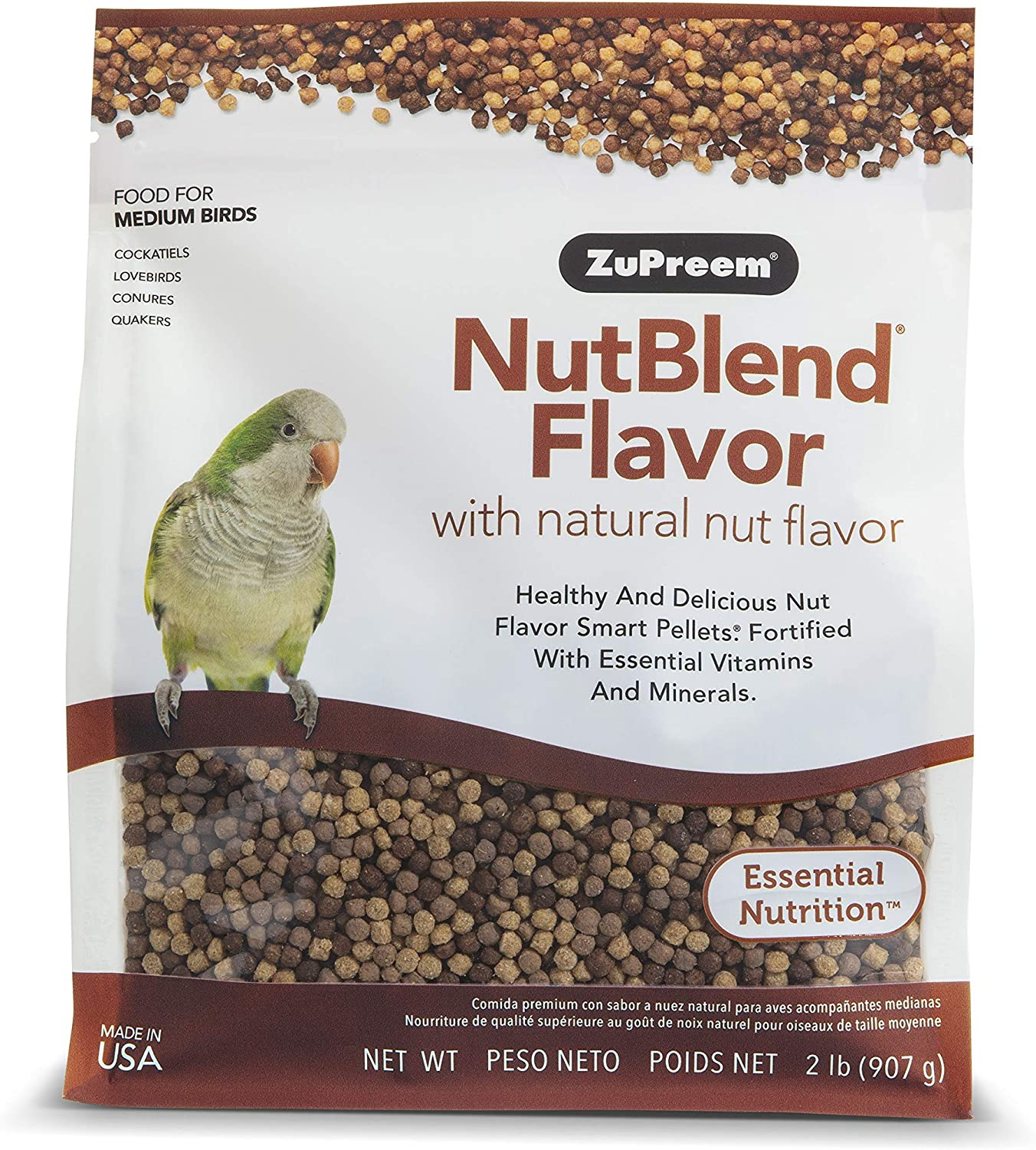 ZuPreem NutBlend for Medium Birds