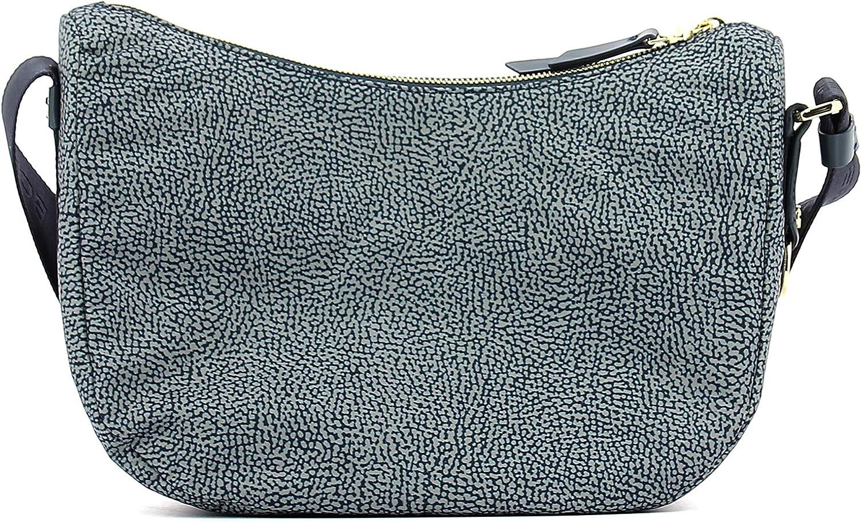 Borbonese Women's 934370296 Cross-Body Bag Grig. Ard/Blu G