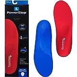 Powerstep Pinnacle Plus Met Insoles, Red/Blue