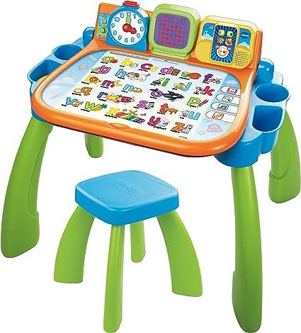 VTech 80 – 154623 Mi Primer Oficina, Juego, Verde: Amazon.es: Juguetes y juegos
