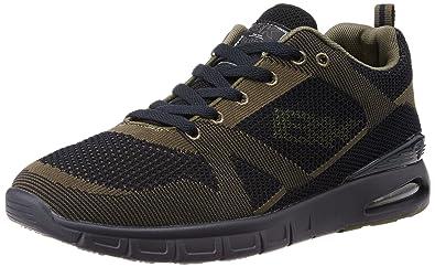 BK - Energy B36-3602-01 Navy-Khaki Damen Herren Sneaker Hellblau Schwarz