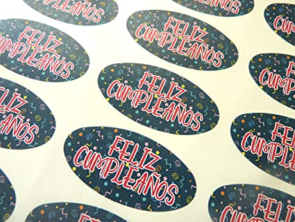 Amazon.com : Pack of 30 Feliz Cumpleanos Spanish Espanol ...