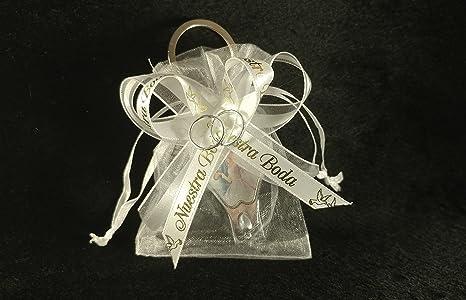 Amazon.com: (12) Organza Favor Bags. Elegantes Recuerdos de ...
